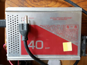 PC40B Power Source Battery Charger Power Supply $120.00