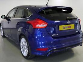 2016 Ford Focus 1.0 EcoBoost 125 Zetec S 5dr Petrol blue Manual
