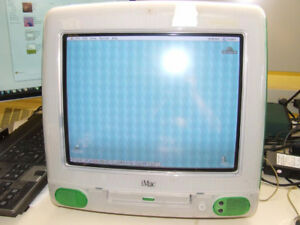Apple iMac M4984 G3 333 MHz Computer - Lime - WORKING - $175.00