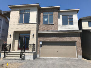BRAND NEW Stittsville 4 bed single house