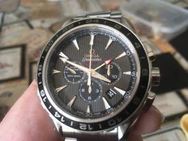 Omega aqua terra gmt chronograph seamaster