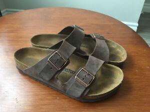 Arizona Birkenstock sandals size 43 regular width