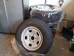 Michelin X-Ice 2 Winter Tires and Rims for Pickup Truck