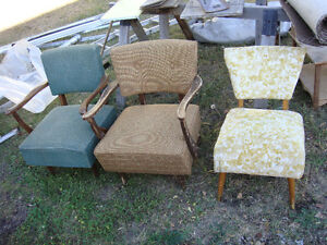2 Quality Rocking chairs and 1 spring chair for sale