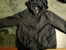Navy Ralph Lauren coat 12m