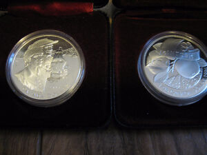 dollar canada commemoratif argent sterling proof like 1991-2015