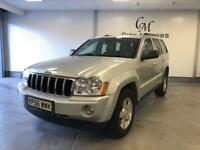 2006 JEEP GRAND CHEROKEE 3.0 CRD Limited 5dr Auto