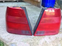 VOLKSWAGEN BORA SPORT REAR LIGHTS ALL RED SPORT OEM