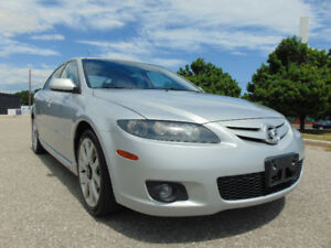 2007 MAZDA SPEED6 GT.V6 ONE OWNER, CLEAN CAR-PROOF, LIKE NEW!