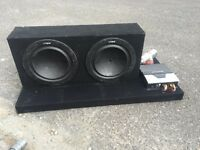 Sub and amp package/boot build