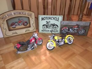 Motorcycle theme for bedroom