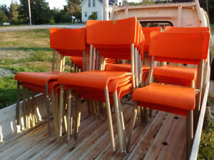 Stacking chairs $5 each