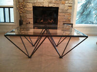 ONE OF A KIND, CUSTOM CONTEMPORARY COFFEE TABLE