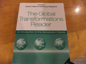 The Global Transformations Reader by Held/Mcgrew