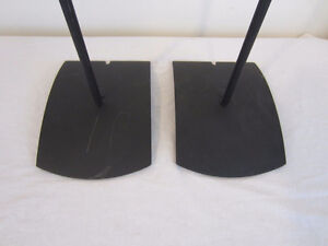 Lot of 2 Bose UFS-20 Speaker Stands Black Stand Home Theater Kitchener / Waterloo Kitchener Area image 2