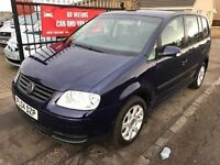 2004 VW TOURAN S 1.9 TDI, NOVEMBER 2017 MOT, WARRANTY, NOT ZAFIRA SCENIC PICASSO