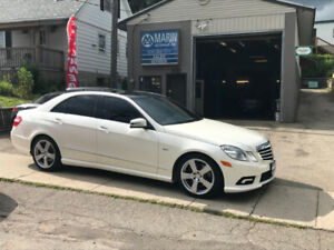 2011 MERCEDES-BENZ E350 BLUETEC DIESEL/ LOADED/ FOR SALE