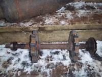 1985 /1991 saffari 377cc jack shaft for bombarier snowmobiles
