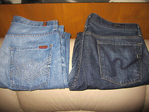Citizens Of Humanity Jeans and 7 For All Mankind Jeans New Mens