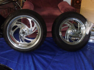 Motorcycle Rims and Tires $2500