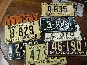 Vintage License Plates -- FROM PAST TIMES Antques - 1178 Albert Regina Regina Area image 6
