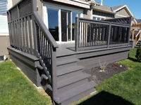 You need your Deck or Fence done!?