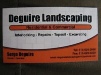 ***DEGUIRE LANDSCAPING & INTERLOCK***