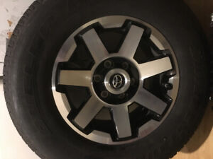 265/70/17 off a 2018 4Runner trd and spare