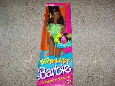 Beach Blast Christie Doll w/ crimped Hair #3253 1989