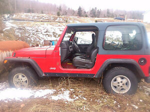 1999 Jeep TJ for sale. 600 firm