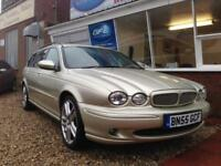 2005 55 Jaguar X-TYPE 2.0 D Sport ESTATE. TURBO DIESEL