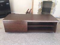 Walnut Effect TV Stand and Cabinet