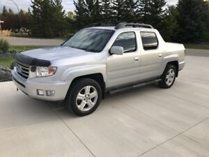 2012 Honda Ridgeline Touring Pickup Truck LOADED , NO GST