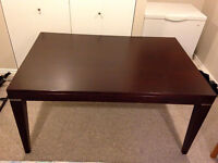 Palliser Dining Room Table and 6 chairs