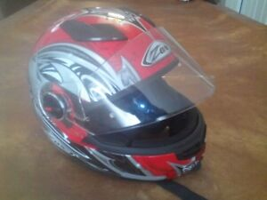 Motorcycle Helmet with FREE Motorcycle Gloves and Boots