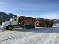 Log truck driver needed