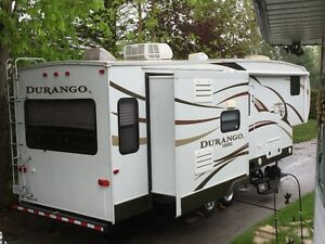 KZ DURANGO 2857, 32FT, FIFTHWHEEL TRAILER AND 2010 DODGE 2500