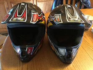 Quad helmets