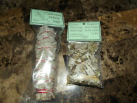 New - California White sage bundle & 1/2 Ounce clippings