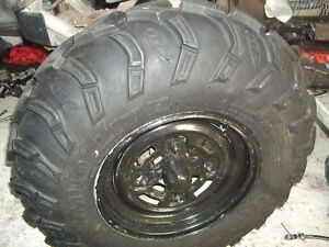 4 New ATV Tires and Rims.