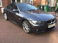 BMW 320d E92 2008 (58), RED LEATHERS, FULL SERVICE HISTORY, HPI CLEAR