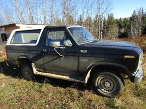 1986 Ford Bronco Coupe (2 door)