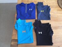 Kids (Age 8-10) Golf / Casual Light Jacket, Polo Shirt and Base Layer