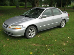 2002 Honda Accord decent shape new brakelines and fuel lines !!