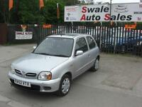 2002 NISSAN MICRA TEMPEST 1L ONLY 103,251 MILES, FULL SERVICE HISTORY, LONG MOT