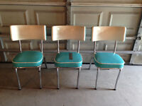 retro wing back kitchen chairs