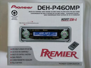 Pioneer Radio d'automobile Premier DEH-P460MP