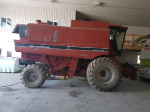 Case ih 1660 combine headers and lots of parts