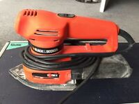 Black and decker ka225 single speed multi sander 155w