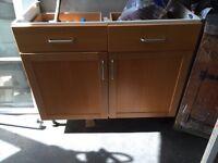 Free kitchen units solid wood